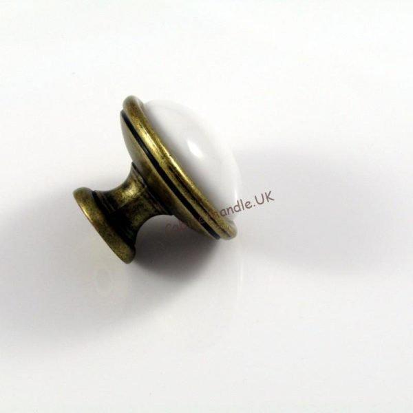 italian white ceramic kitchen knob