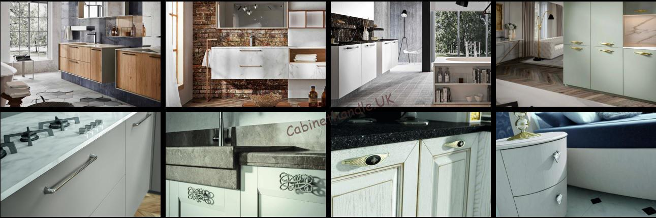 kitchen or bathroom italian handles and knobs which can completely change the interior