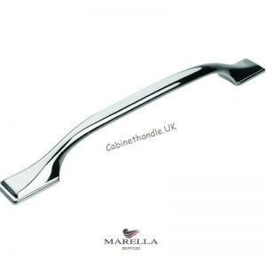 chrome kitchen handle