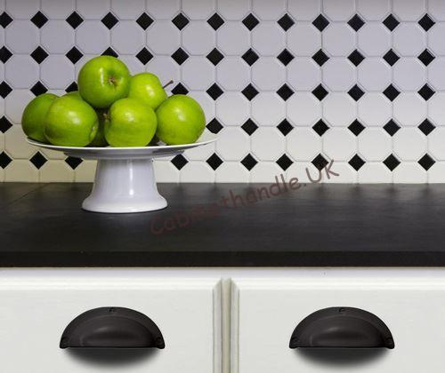 black cup handle in the kitchen 100% made in Italy