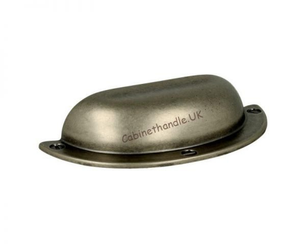 brushed steel cup handle