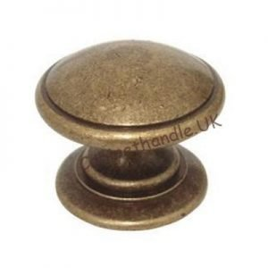 old brass kitchen bedroom or bathroom knob