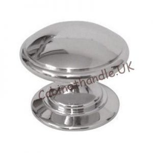chrome drawer knob
