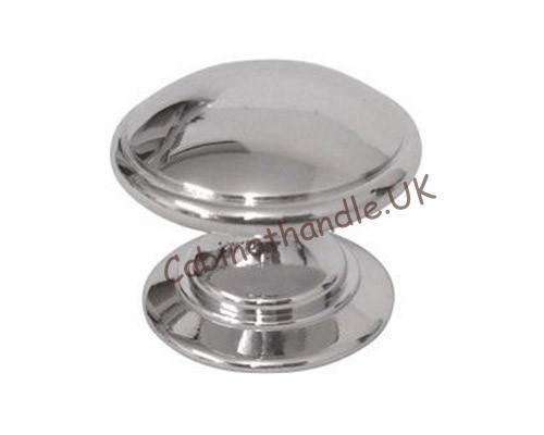 chrome drawer knob