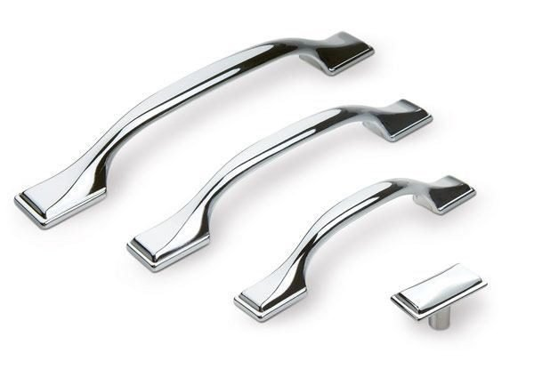 chrome kitchen handles