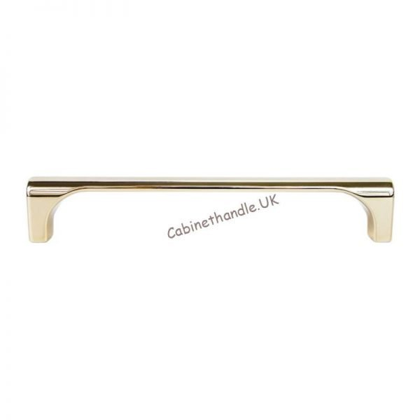 224 mm high quality gold kitchen drawer bar handle