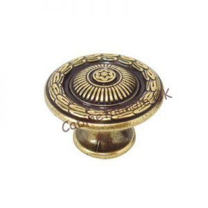 antique knob for kitchen cupboards or drawers
