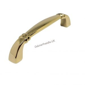 96 mm gold kitchen handle