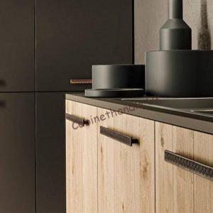 black industrial handles