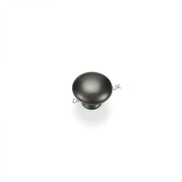 dark bronze kitchen knob made by Giusti Italy