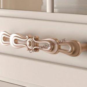 rose gold drawer handle