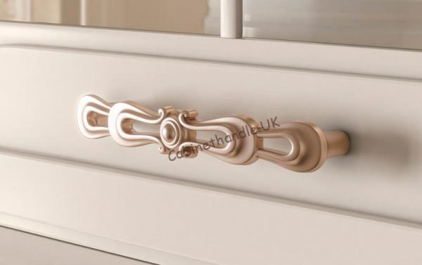 rose gold drawer handle