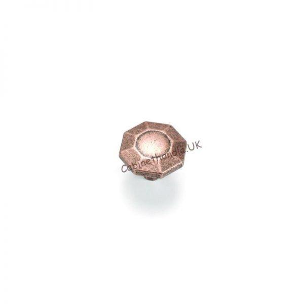 giusti kitchen knob in a color of antique copper