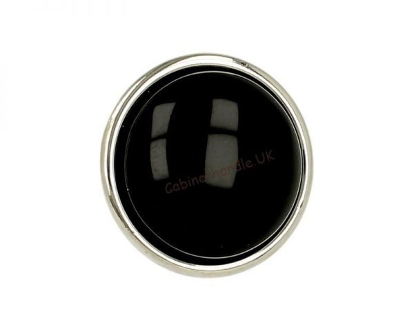 black ceramic knob kitchen