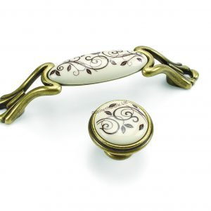 gold kitchen ceramic handles