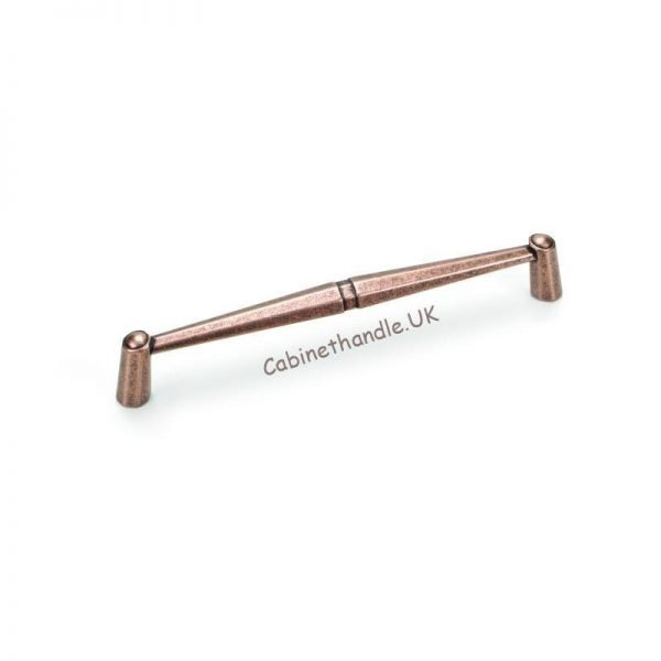 160 mm giusti kitchen handle in a color of antique copper