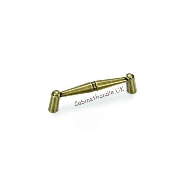 old gold kitchen handle made by Giusti Italy