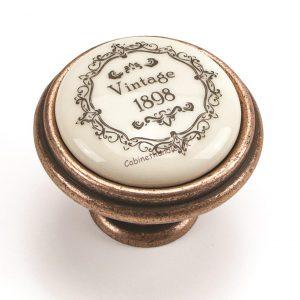 vintage ceramic knob made by Giusti