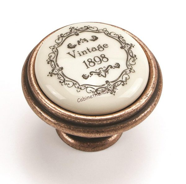 vintage ceramic knob made by Giusti