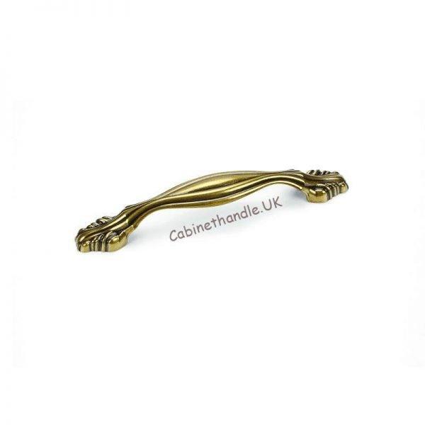 128 mm antique gold kitchen handle Giusti