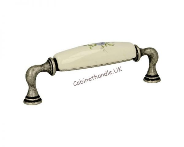floral drawer pull handle kitchen