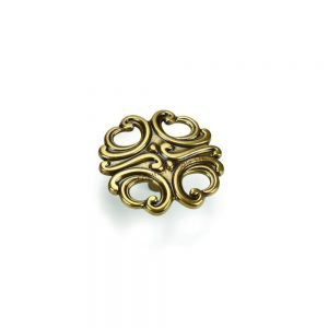 64 mm gold kitchen knob giusti