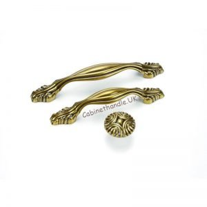 antique gold kitchen handles