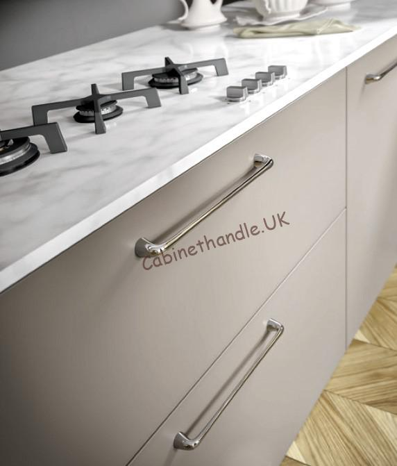 chrome bar kitchen handles Italy