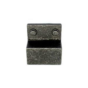 32 mm black iron cupboard handle