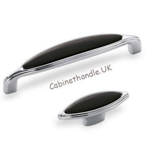 black ceramic kitchen handles