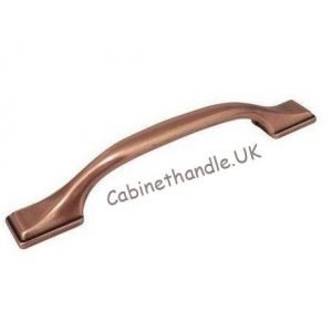 brushed copper kitchen handle