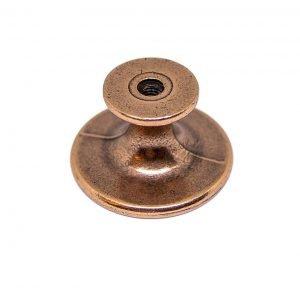 brushed copper kitchen knob