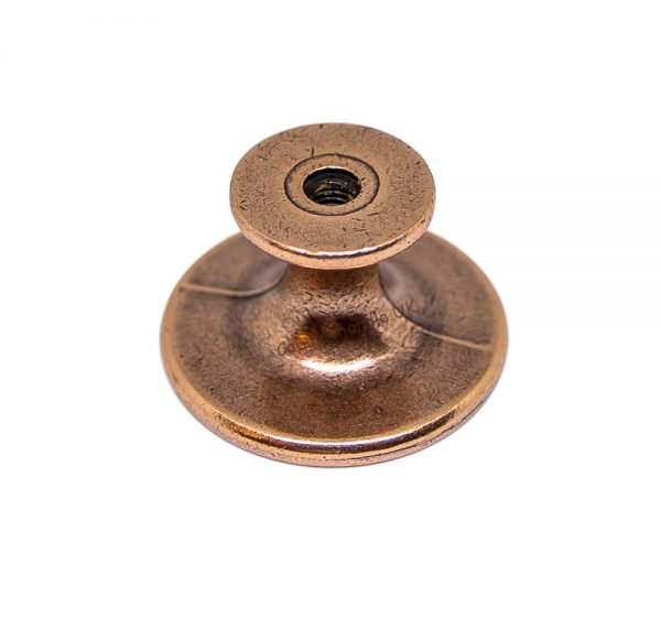 brushed copper kitchen knob