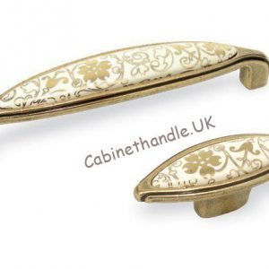 ceramic gold kitchen handles
