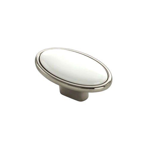 ceramic drawer knob oval shape