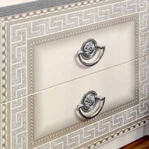 chrome ring drawer pulls