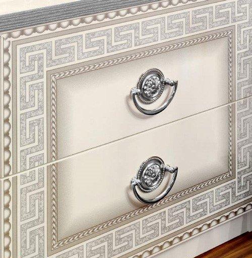 chrome ring drawer pulls