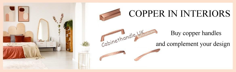 copper handles
