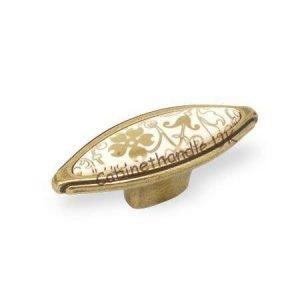 gold ceramic kitchen knob