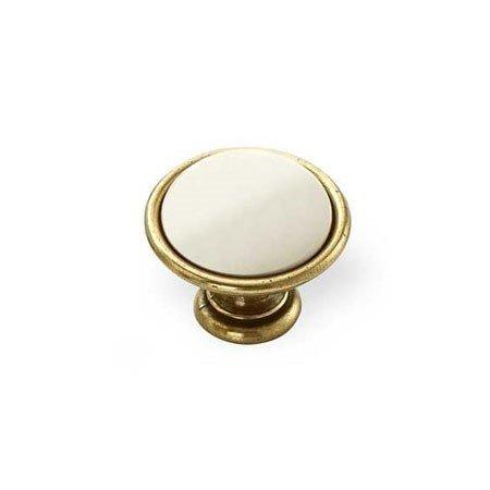 gold ceramic knob in 35 mm size