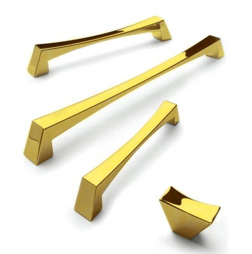 gold modern kitchen handles