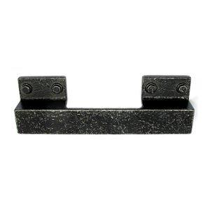 black industrial handle