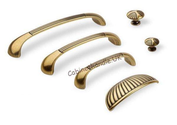 old gold kitchen handles