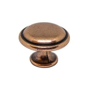 vintage copper kitchen knob