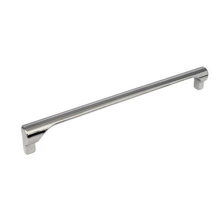 chrome kitchen door handle 224 mm