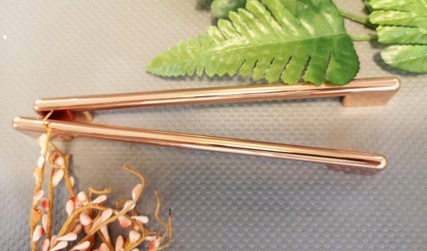 copper bar handles
