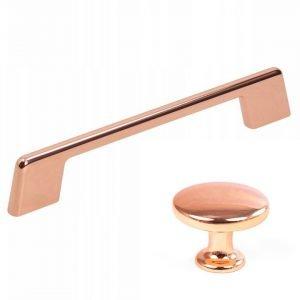 copper kitchen handles