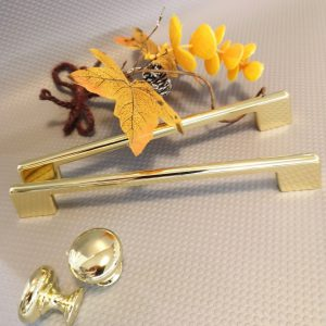 gold cupboard handles