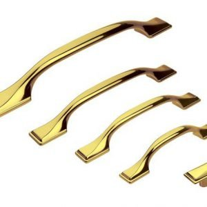 gold kitchen cupboard handles