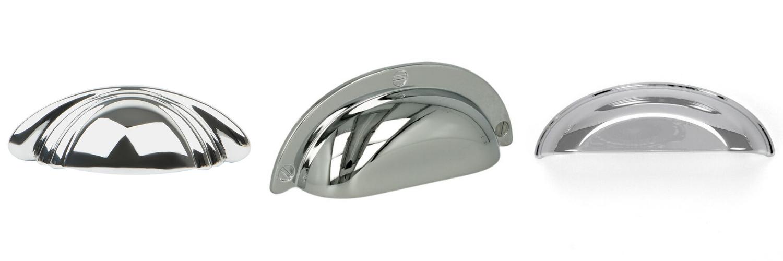 chrome cup handles
